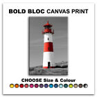 Lighthouse ABSTRACT  Canvas Art Print Box Framed Picture Wall Hanging BBD
