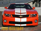 2010-2013 Chevy Camero 10 Rally Racing Stripes Decal Sticker Vinyl Wrap Hood