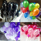 New 100pcs/lot Solid Color Balloons Party Wedding Celebration Ballon Decoration