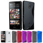 NEW S LINE WAVE GEL SKIN PHONE CASE COVER ACCESSORY FOR SONY ERICSSON XPERIA T