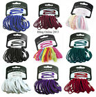 20pc SET SLEEPIE & ELASTICS HAIR HEAD BANDS SNAP CLIPS HAIRBANDS SCHOOL COLOURS