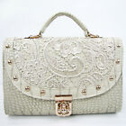 Luxury Sexy Women Lace Shoulder Clutch Handbag Tote Bag Hobo Cross Body Bag