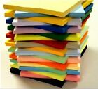 SRA 2 160GM  COLOURED CARD EXTRA LARGE 640mm x 450mm SHEET SIZE  21 COLOURS