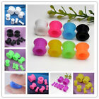 8 Colors Flexible Silicone Flare Ear Tunnel Flesh Plug Earlet Expander Stretcher