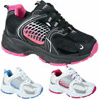 LADIES LACE UP WOMENS GYM TRAINERS SPORTS JOGGING RUNNING CASUAL LEISURE SHOES