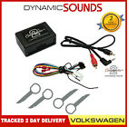 AUX iPod iPhone MP3 player AUX in Interface for VW Golf MK5 With Removal Keys