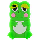 Compatible Silicone Case Cover fits iPhone 4 4S Frog