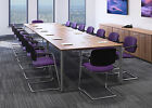 Sven 2.0 x 1.2 Metre Boardroom, Conference, Meeting Room Table - Finish Choice