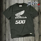 New Genuine Honda Merchandise Top Quality Retro Style Honda 500 T Shirt TSHIRT