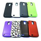 For Samsung Galaxy S2 X (Telus,Bell) V2 Double Layer Hybrid Cell Phone Accessory
