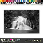 Waterfall River LANDSCAPES Canvas Print Framed Photo Picture Wall Artwork WA