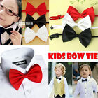 Lot 3Pcs-100 Pcs Cute Design Children Kid Boys Bowtie Pre-Tied Bow Tie Necktie