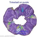 Quilting cotton hair scrunchie twist home dance school gym CHOICE colour fabric