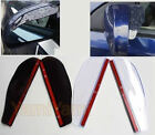 2X Universal Car Rear-View Mirror Eyebrow Cover Anti Rain Water Sun Visor Shade