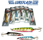 Toby Lure Type.. 18gm *HOLOGRAPHIC TOBIX* Spinning Lures for Salmon & Seatrout