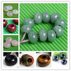 5pcs 10x14mm Natural Gemstone Loose Beads for European Charm Bracelet Necklace