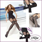 Very sexy mock stay-up Tights Gatta S M L imitation stockings suspender tights