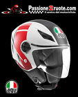 Casco jet Agv Blade Fx Rosso Ducati Monster S2r s4r S4rs 1000 Indiana Gt 1000