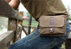 Men's Women's Canvas Vintage Casual Fanny Hip/Bum/Waist Hiking Bag Purse Pouch