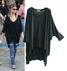 Celebrity style Super soft silky slouchy oversized style tunic top