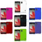 Color Hard Snap-On Rubberized Case Cover for LG Optimus G LS970 / Eclipse 4G