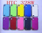 Bling luxurious Star Shining Hard Cover for HTC Desire V T328w / Desire X T328e