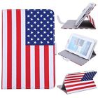"""Universal 7"""" Android Tablet Case Folio Stand Leather Folding+Capacitive Stylus"""