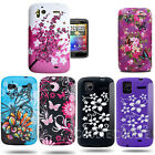 FOR HTC SENSATION FLOWER HYDRO SOFT RUBBER TPU CASE COVER + SCREEN PROTECTOR