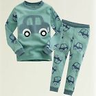 "NWT Vaenait Baby Toddler Kid Boys' Loungewear Sleepwear Top Bottom Set""Mini Car"""