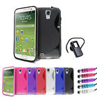 S Line Wave Gel Series Case Cover - Bluetooth Headset For Samsung Galaxy S4 i950