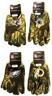 NWT NFL Camouflage No Slip Gripper All Purpose Utility Work Gloves Hunting Camo on eBay