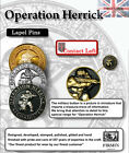 Official MoD Approved Op Herrick / Afghanistan Lapel Pins ( 100% UK made
