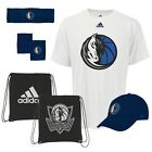 NWT NBA Dallas Mavericks Adidas 5-Piece Fan Combo Pack Bag Hat Shirt Bands Cap on eBay