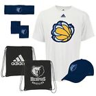 NWT NBA Memphis Grizzlies Adidas 5-Piece Fan Combo Pack Bag Hat Shirt Bands Cap on eBay