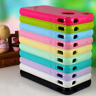 1PC TPU Soft Silicone Back Case Cover Skin Protector Shell For Apple Iphone 4 4S