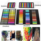 NEW HOT FASHION NON-TOXIC COLORS CHALK DYETEMPORARY HAIR PASTEL KIT COLOURFUL