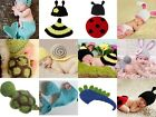 Cute Baby Costume Photo Photography Prop Knit Crochet Beanie Animal Hat Cap Set