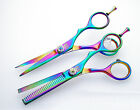 "New Hair Scissors Barber Shears Hairdressing Scissor Razor Sizes 4.5"" 5"" 5.5"" 6"""