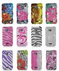 Bling Diamond Hard Cover Case For Samsung Galaxy Victory 4G LTE L300