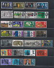 G.B. QEII 1964/5 - Sg 646 to 684  - Select from List - Mulitple Listing - Used