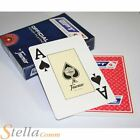 Fournier Official European Poker Tour Playing Cards Casino Magic Red Blue Decks