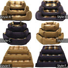 Dog Bed Cat Bed Pet Bed Modern Design Washable Beds - Small Medium Large