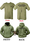 Royal Marine Commando HOODIE + T Shirt Unisex All Sizes ( Double Sided Print