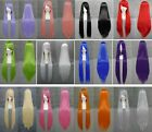 HOT Sell! 12 Colors  Popular New long Straight Cosplay wig 32''Inches   D.016