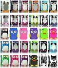 For Apple iPhone 4 4S 4G 16 32 Cover 3D Silicone Soft Gel Rubber Accessory Case
