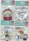 U CHOOSE  Jolee's WEDDING GIFTS ENGAGEMENT RING WEDDING DAY  3D Stickers