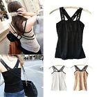 New Women's Sexy Lace Tank Top V-neck Vest Dress Cami Casual Sleeveless T-shirt