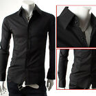 CHEAP! PJ Collection Slim Fit Sexy Men's Casual Formal/Business Dress Shirt Tops