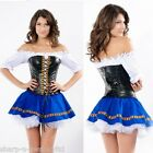 ☆ Sexy Ladies Beer Maiden Oktoberfest Bavarian Girl Fancy Dress Costume Outfit ☆