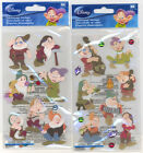 U CHOOSE  Disney SEVEN DWARFS 7 DWARFS gems 3D Stickers snow white